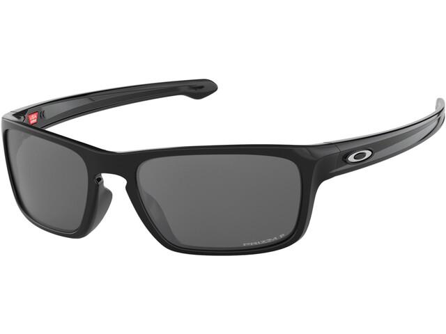 Oakley Sliver Stealth Sunglasses Polished Black/Prizm Black Polarized